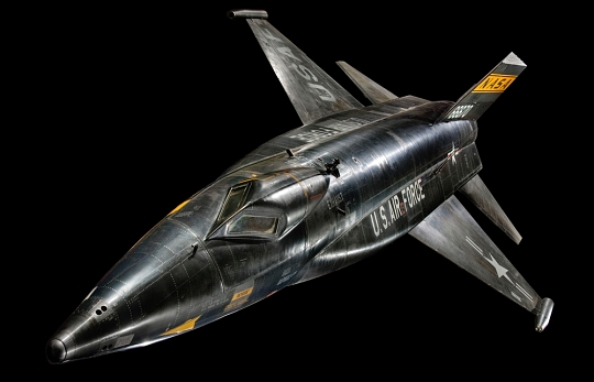 North American X-15 in Milestones of Flight