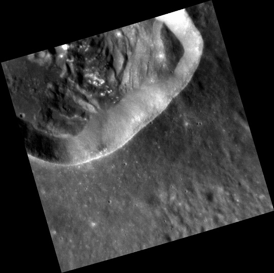 Landslides on Mercury