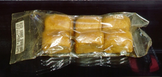 Apollo-Soyuz Space Food Riga Bread