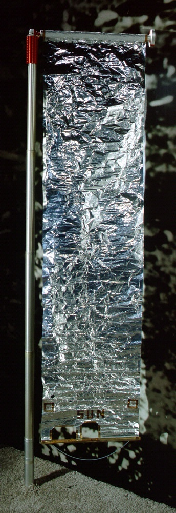 Apollo Solar Wind Composition Experiment