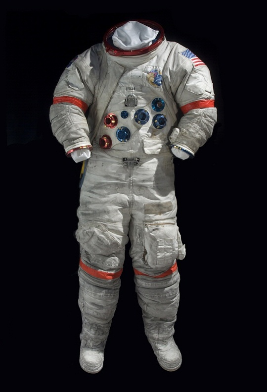 Apollo 17 Cernan Space Suit