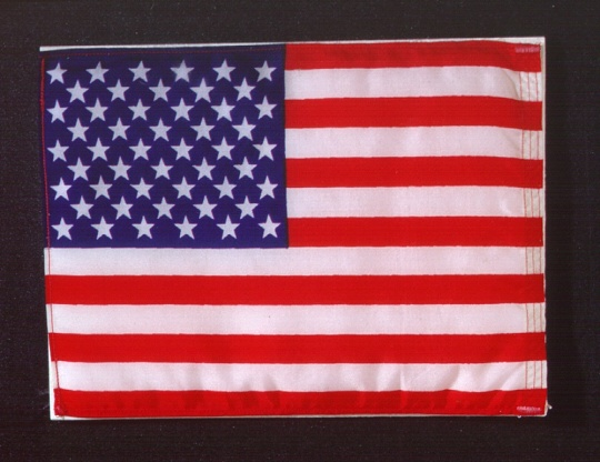 Apollo-Soyuz U.S. Flag
