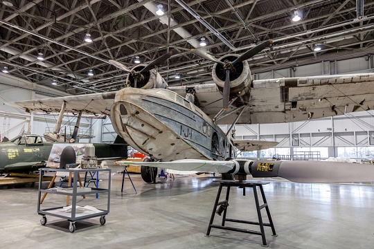 Sikorsky JRS-1 in the Mary Baker Engen Restoration Hangar
