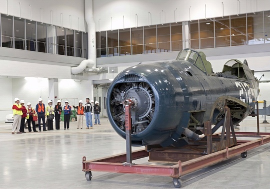 Helldiver in the Restoration Hangar