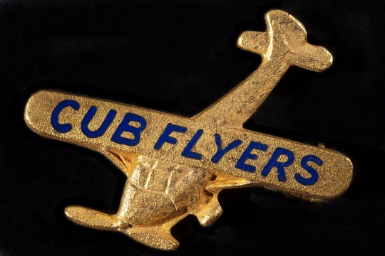 Cub Flyers Lapel Pin