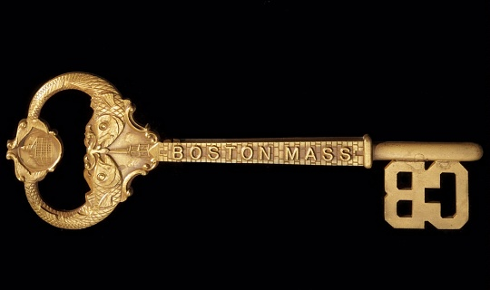 Key to the City of Boston (Back)