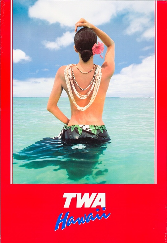 TWA Hawaii Poster