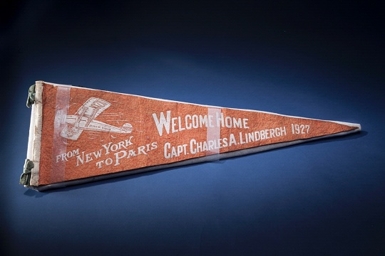 Lindbergh Welcome Home Pennant