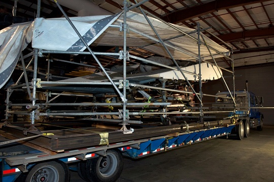 Horten Loaded for Transport