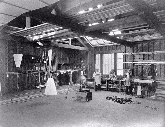 Langley Aerodrome in Workshop