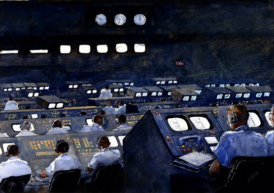 Firing Room, Apollo 11 by