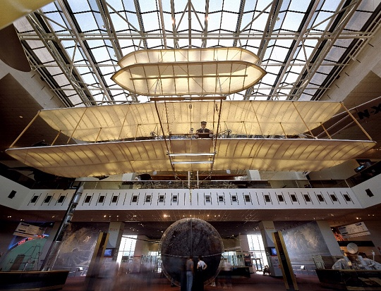 1903 Wright Flyer in Milestones of Flight Gallery