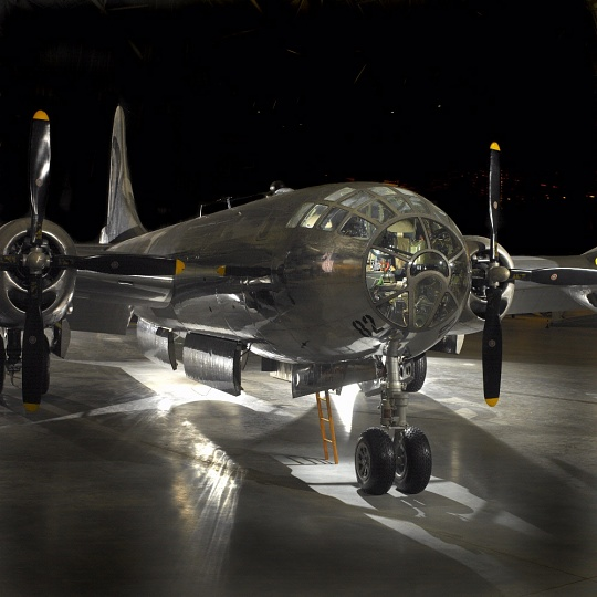 Boeing B-29 Superfortress <em>Enola Gay</em> at the Udvar-Hazy Center