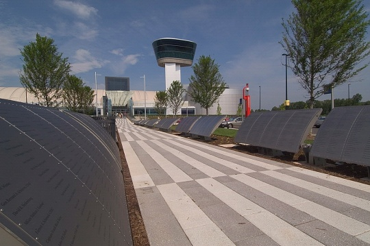 Wall of Honor at the Udvar-Hazy Center Entrance