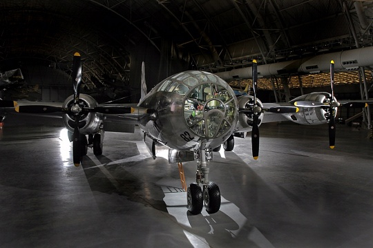 Enola Gay  at the Steven F. Udvar-Hazy Center