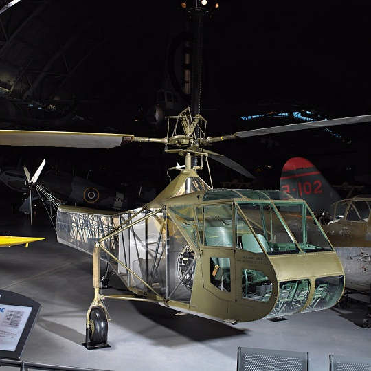 Vought-Sikorsky XR-4C at the Udvar-Hazy Center