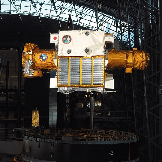 Spartan 201 Satellite at the Udvar-Hazy Center