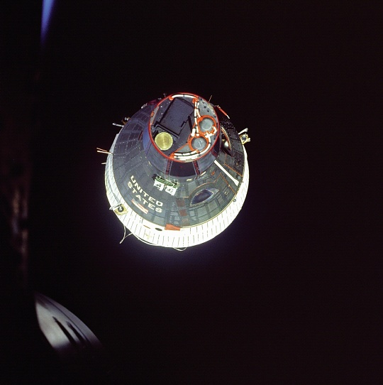Gemini VII in Orbit