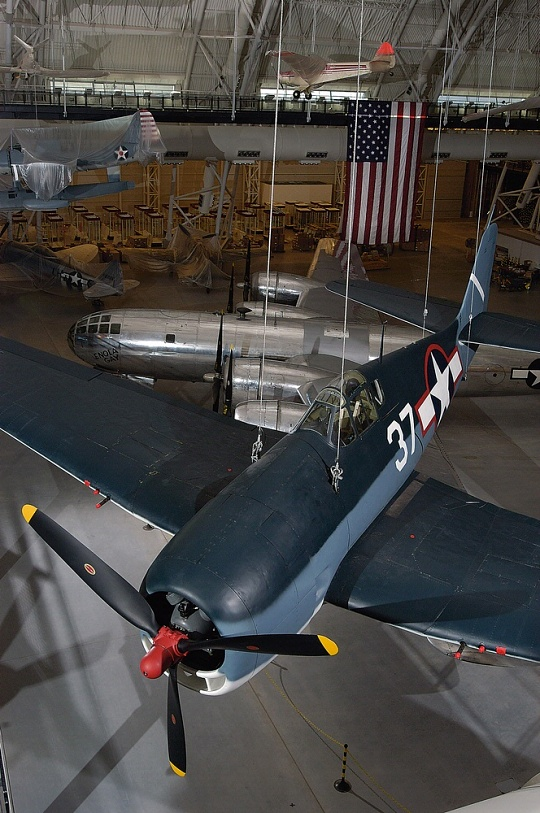 Grumman F6F-3 Hellcat at the Udvar-Hazy Center