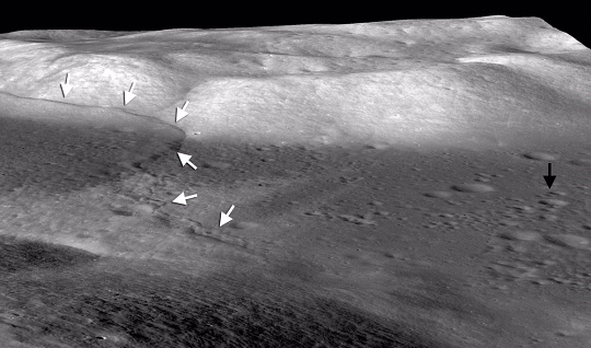 The Lee-Lincoln Scarp on the Moon