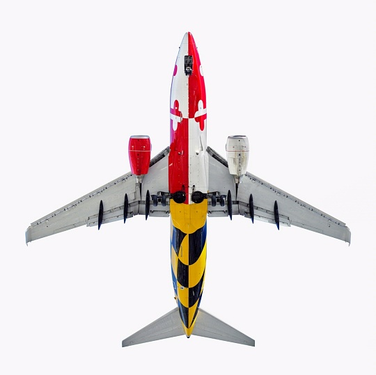 <i>Maryland One</i> on display in <i>AirCraft: The Jet As Art</i>