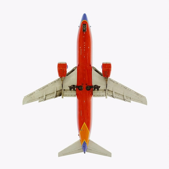 Southwest Airlines Boeing 737 on display in The Jet As Art