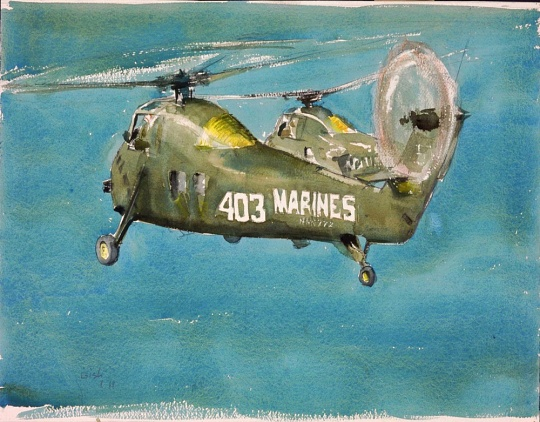 <i>Carrier Bound</i> in <i>Fly Marines!</i>