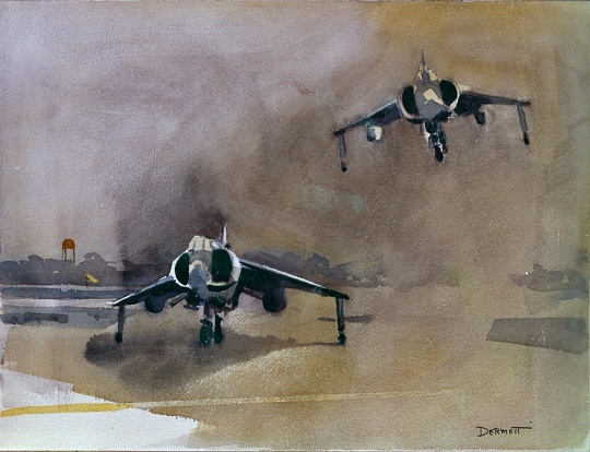 <i>Harriers, a Pair</i> in <i>Fly Marines!</i>