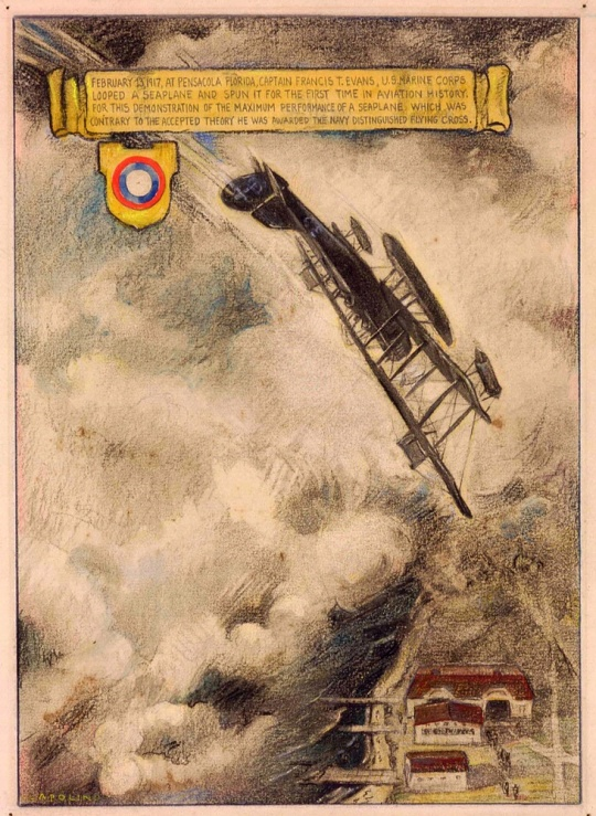 <i>Loop of Seaplane, 1917</i> in <i>Fly Marines!</i>