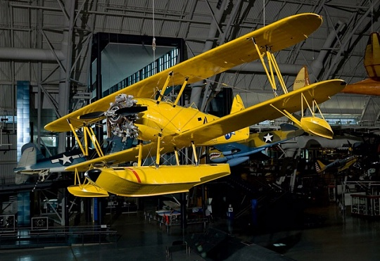 "Naval Aircraft Factory N3N-3 ""Yellow Peril"""