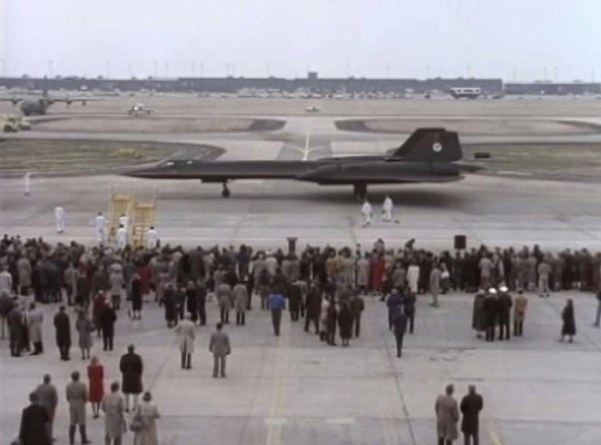 SR-71 Record Flight