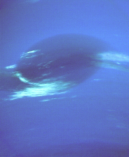 Neptune Great Dark Spot in High Resolution