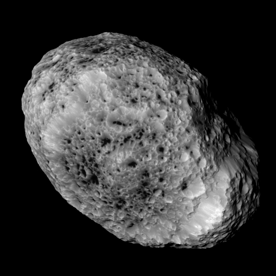 Last Flyby of Saturn's Satellite Hyperion