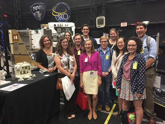 Interns Tour NASA Goddard