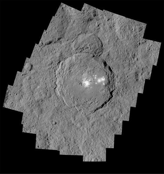 Brightest Spot on the Dwarf Planet Ceres