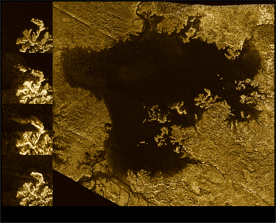 Ligeia Mare on Saturn's Satellite Titan