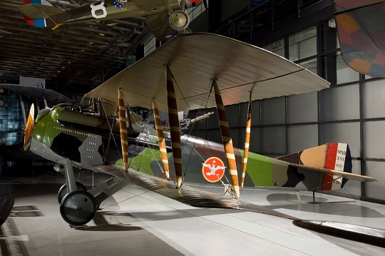 Spad XVI at the Steven F. Udvar-Hazy Center