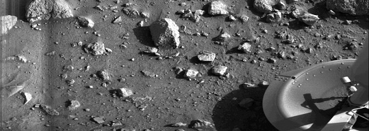 Viking 1: First Image from Surface of Mars
