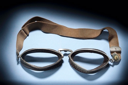 Amelia Earhart's Flying Goggles (missing lenses)