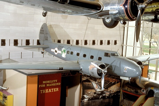 Boeing Model 247D, America by Air