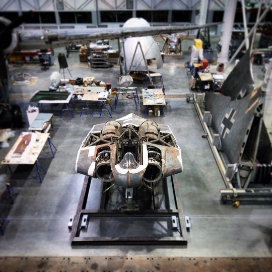 Horten at the Restoration Hangar