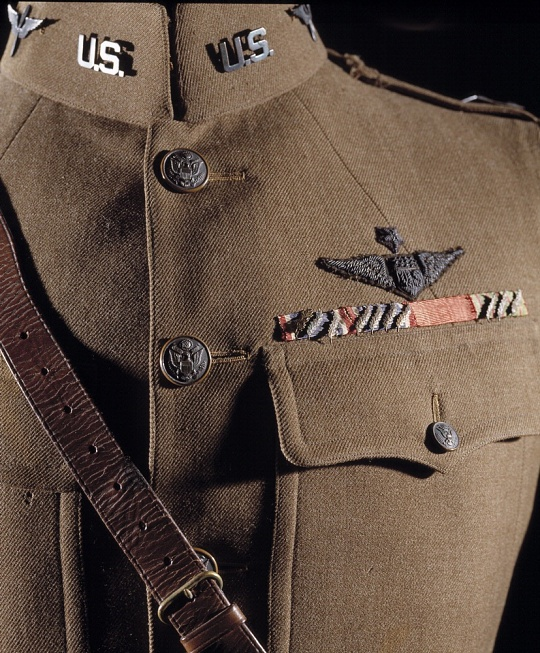 Eddie Rickenbacker Uniform Jacket at the Udvar-Hazy Center