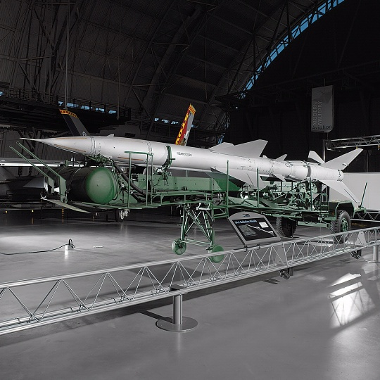 SA-2 Guideline Missile at the Udvar-Hazy Center