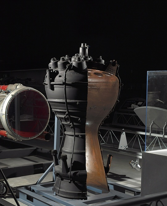 V-2 Combustion Chamber at the Udvar-Hazy Center