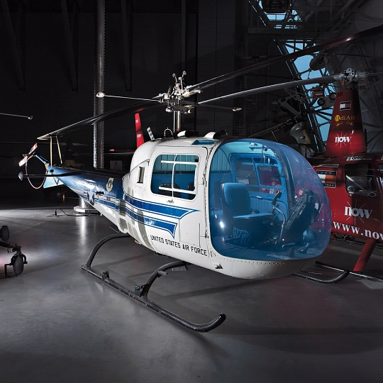 Bell H-13J at the Udvar-Hazy Center