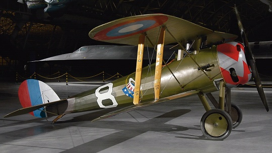 Nieuport 28C.1 at the Udvar-Hazy Center