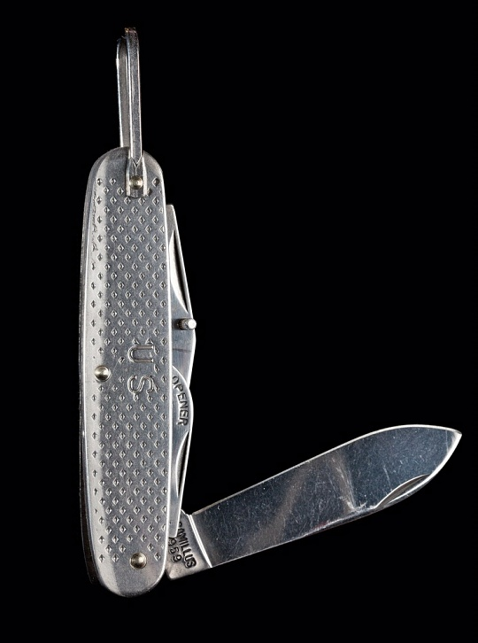 Pocket Knife, Mercury Freedom 7