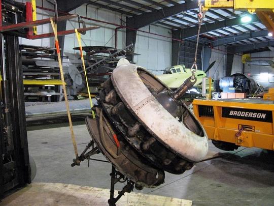Moving the Sikorsky JRS-1