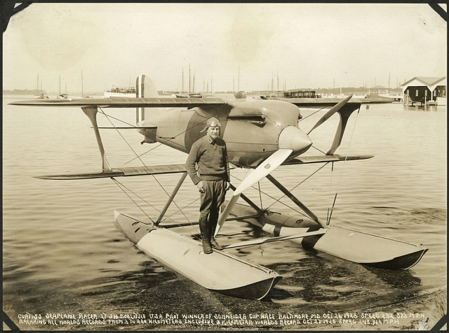 Jimmy Doolittle and a Curtiss R3C-2 Racer