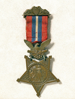 Christian Fleetwood's Medal of Honor,  Name: Fleetwood, Christian,  Date: 1860s